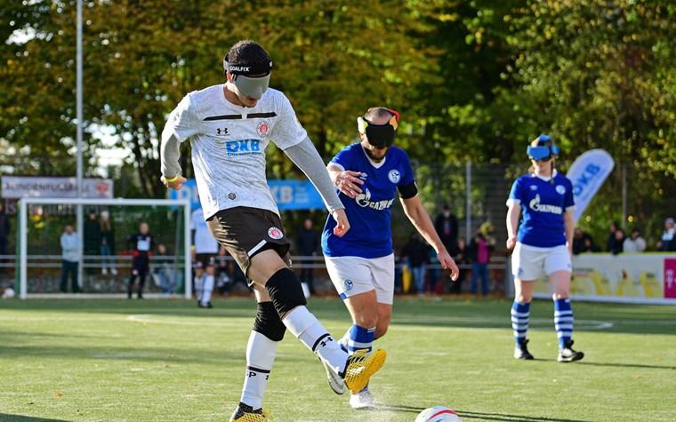 FCSP-Blindenfußballteam nach 2:0 gegen Schalke erneut im DM-Finale