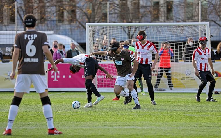 0:3 gegen den MTV Stuttgart - FCSP-Blindenfußballteam erneut Vizemeister