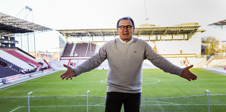 GeloRevoice-Gewinnspiel: Trefft Ewald Lienen beim Heimspiel gegen Sandhausen