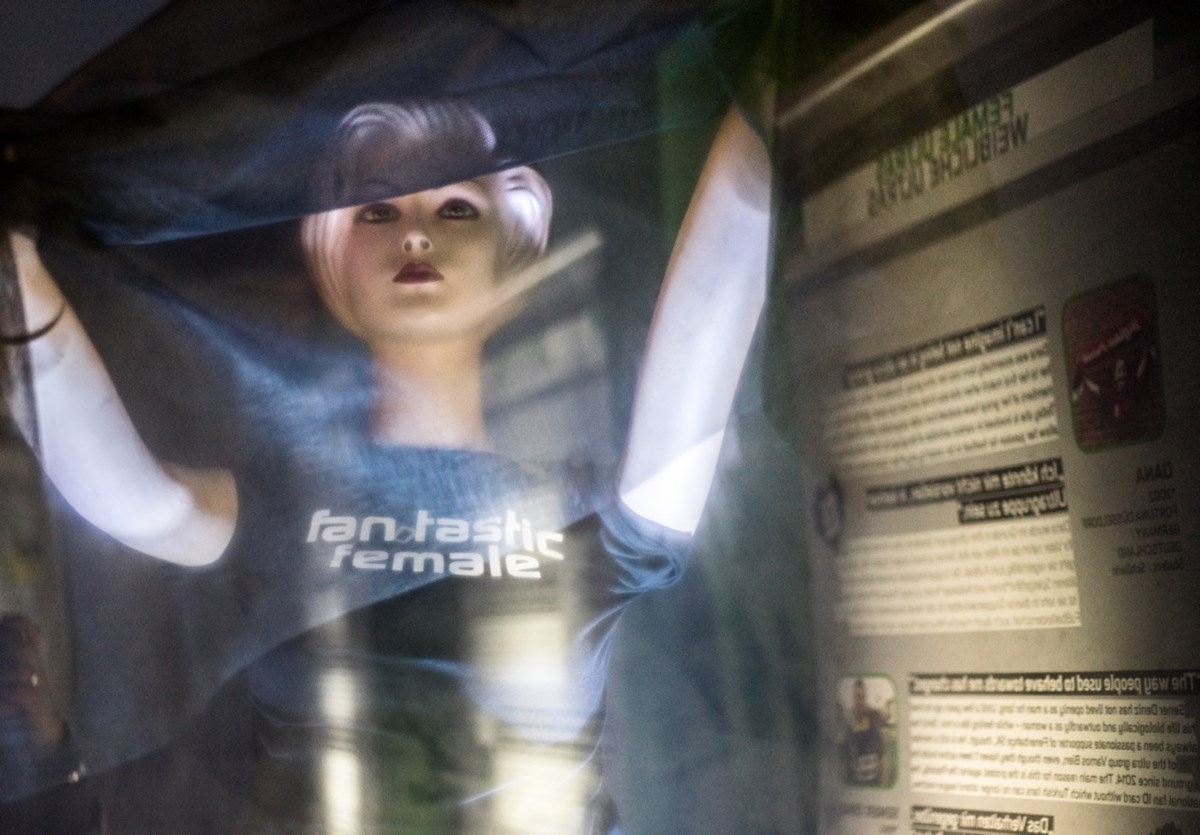 "Herstory"" statt ""History"". Die Wanderausstellung ""Fan.Tastic Females"" feierte ihre Premiere im FC St. Pauli-Museum."