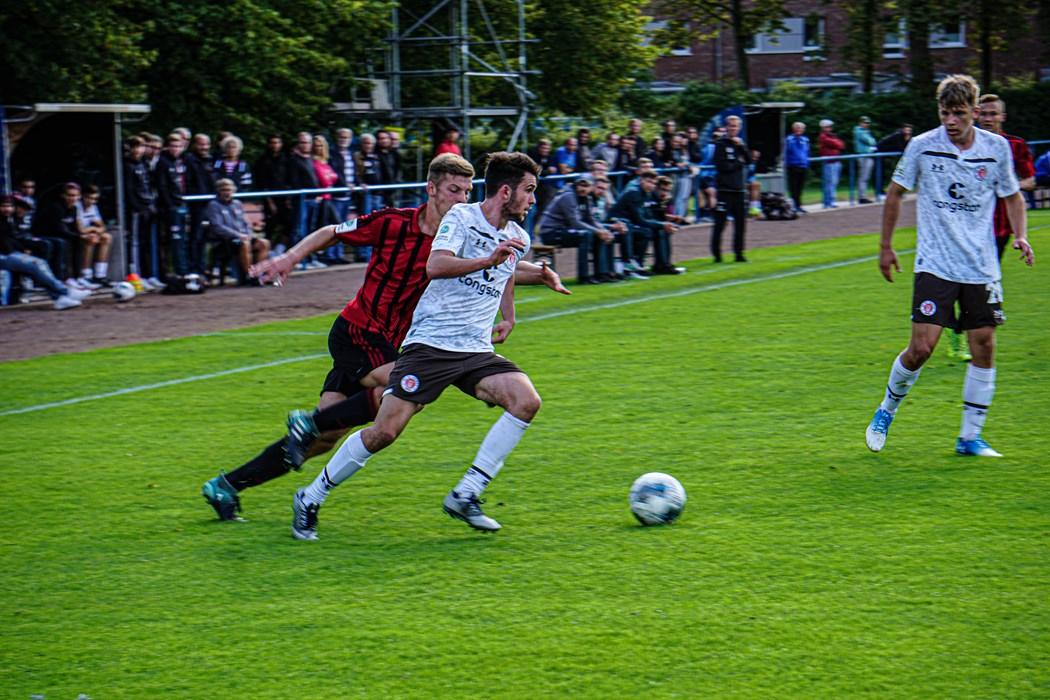 Leistungsträger in der U19: Leon Flach wird entweder als Linksverteidiger oder zentraler Mittelfeldspieler eingesetzt.