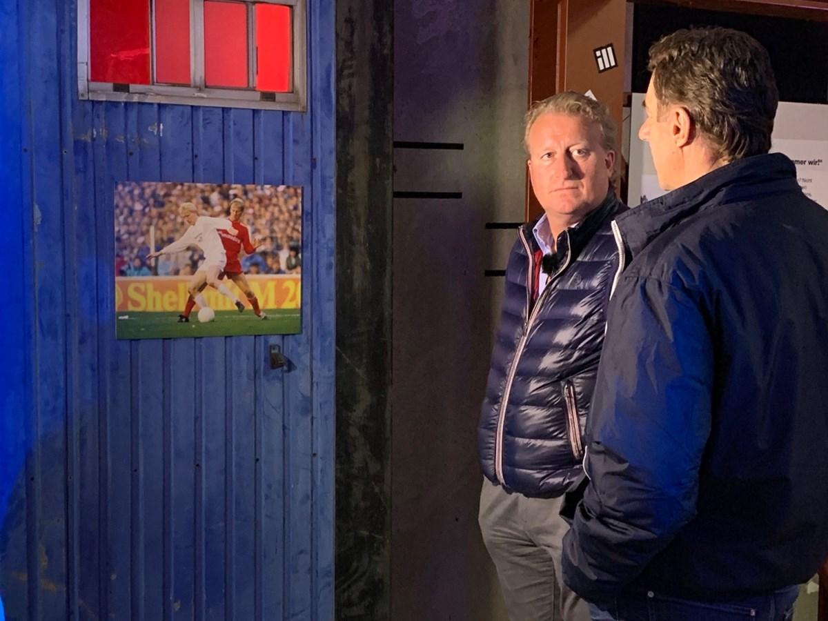 Zeitzeugen im KIEZBEBEN: Klaus Ottens (li.) und Helmut Schulte (re.) erlebten das Spiel gegen Bayern als Spieler, bzw. Cheftrainer mit.