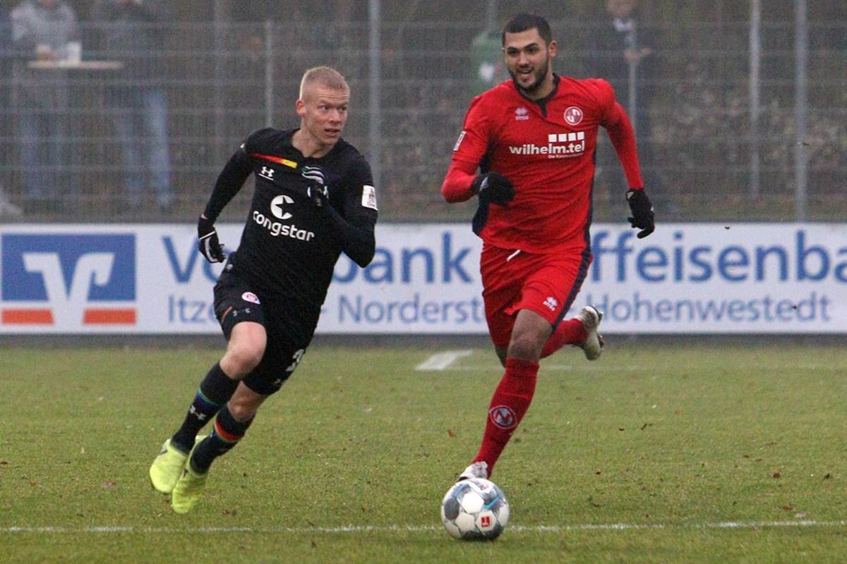 Die nächste schwierige Aufgabe für Jannes Wieckhoff und die U23: Nach Eintracht Norderstedt trifft die Philipkowski-Elf nun auf den VfB Lübeck.