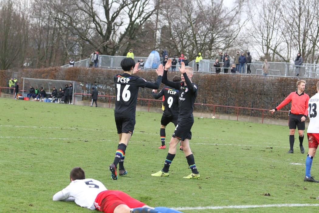 """Mit einem 1:1-Unentschieden im """"kleinen Derby"""" ging es für die U23 Mitte Dezember in die Pflichtspielpause."""