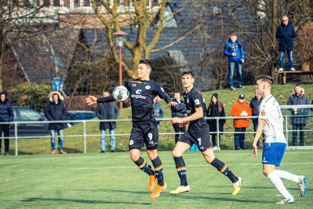Serkan Dursun (l.) und Igor Matanovic (r.) wollen auch in Chemnitz auf Torejagd gehen.